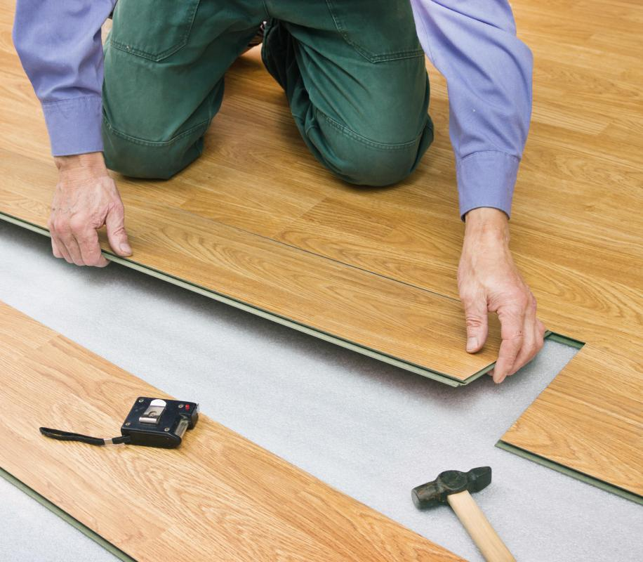 No matter what type of new floor is being installed, any old flooring must be removed and the sub-floor must be in good condition before the job can begin.