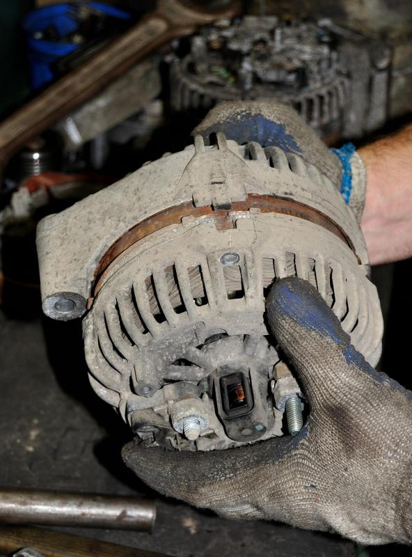 Alternators typically require accessory pulleys.