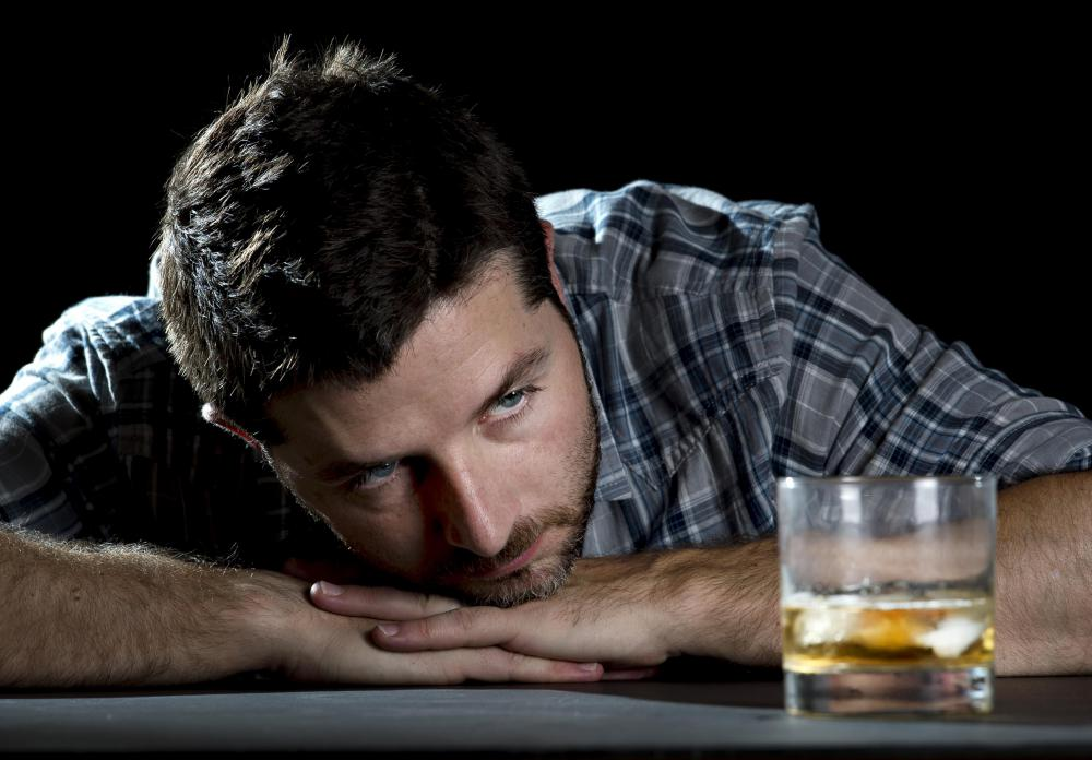 Dopamine receptors may play a role in the link between depression and alcoholism.