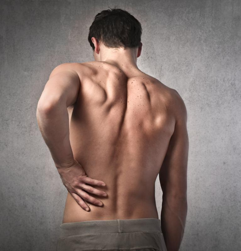 When lower back pain occurs, a person should try stretching out the muscles of the lower back and hips.