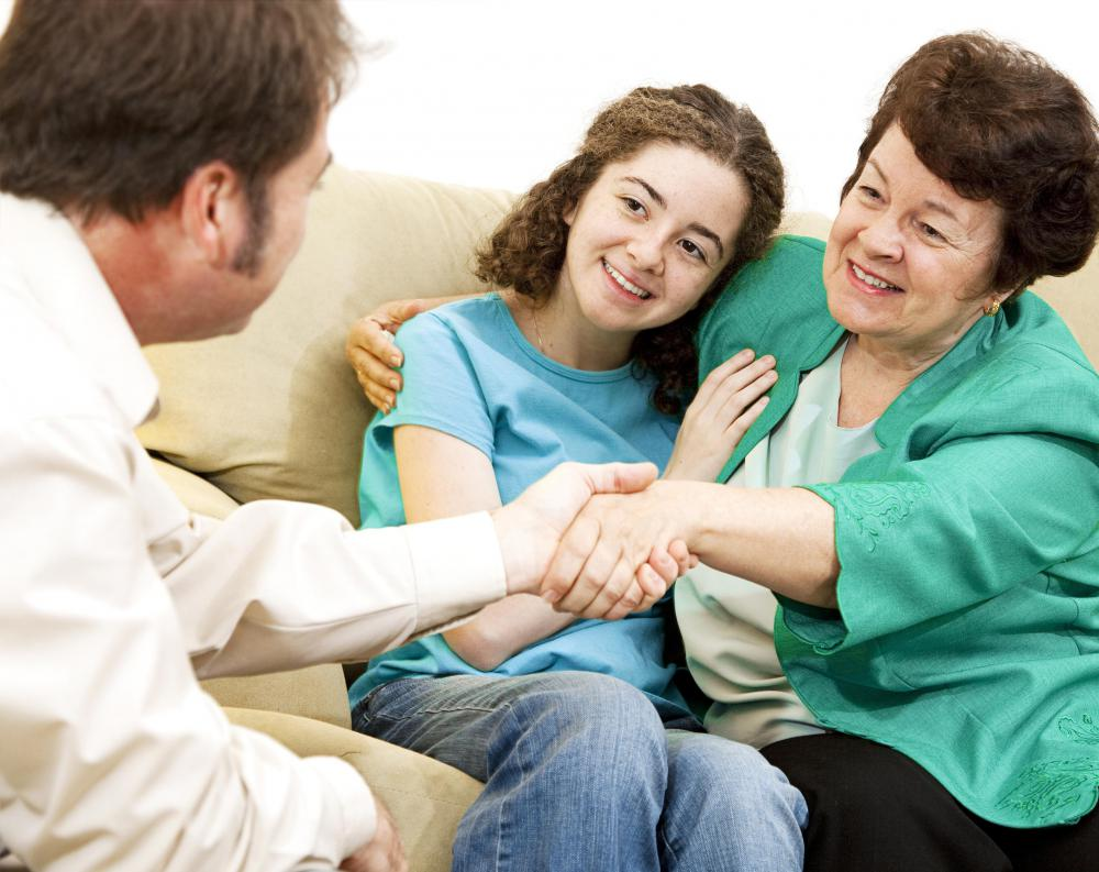 A licensed therapist may specialize in being a marriage, family, and child counselor.