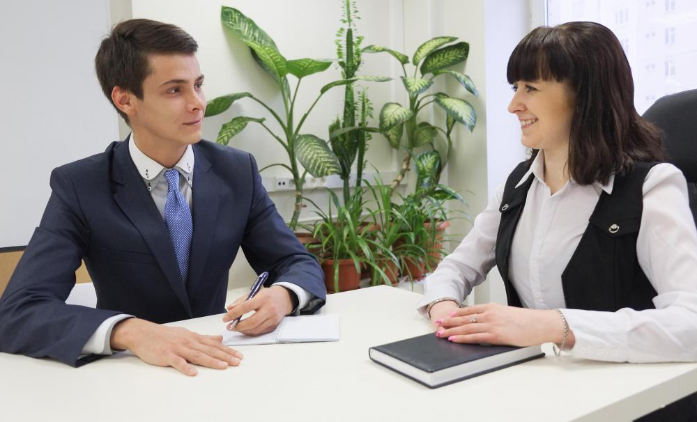 A prospective sales manager may be asked about his or her presentation skills during an interview.