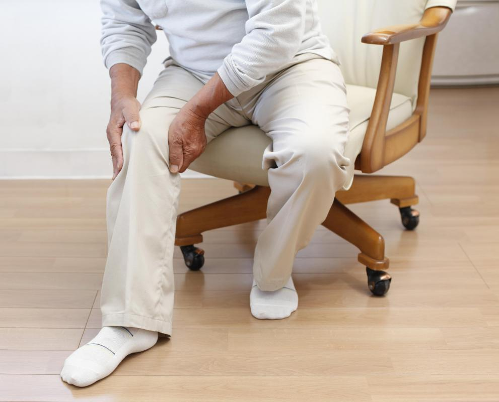 Restless leg syndrome may present with cramping and pain in the legs.