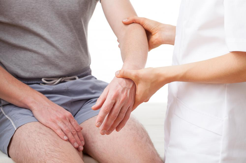 Physical therapy is often employed after an elbow fracture has set.