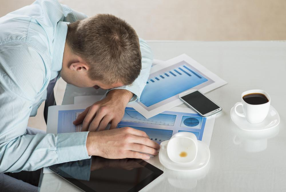 Working various shifts can lead to difficulty staying awake.