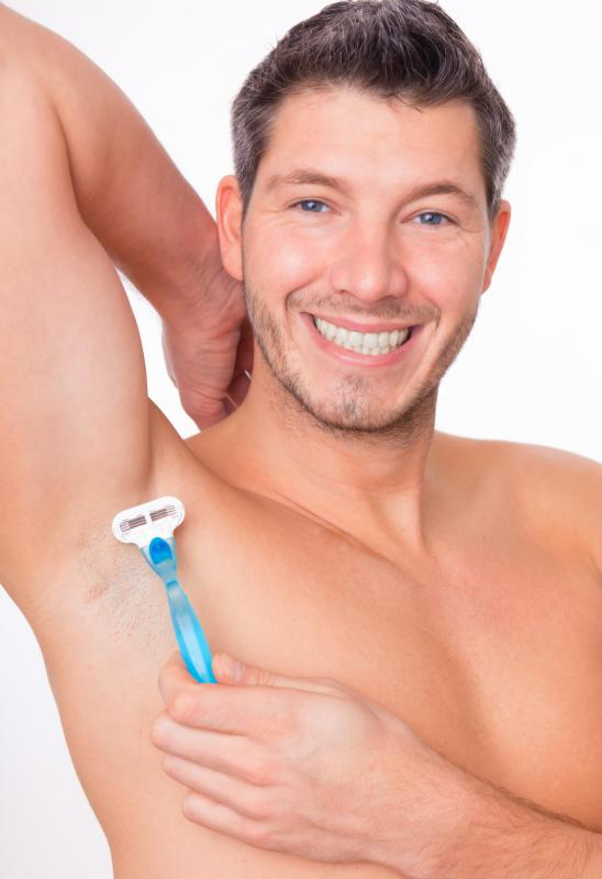Some men may shave their armpits in an attempt to prevent sweat from being trapped and causing body odor.