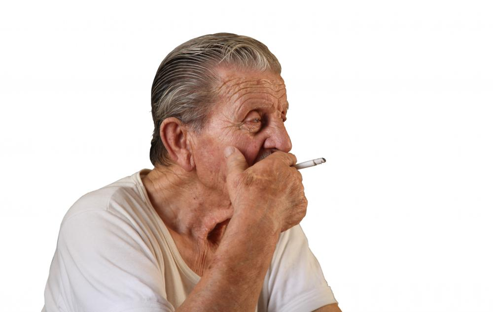 Smoking is a risk factor for vein inflammation.