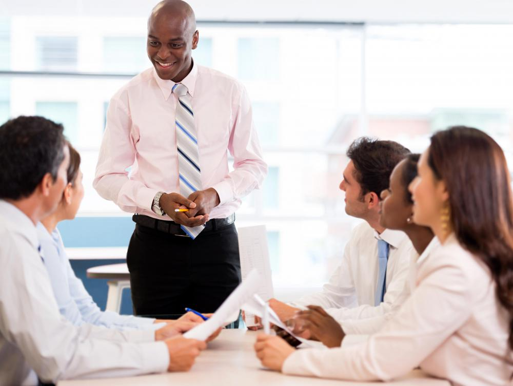Preparing and giving presentations are important tasks for an associate consultant.