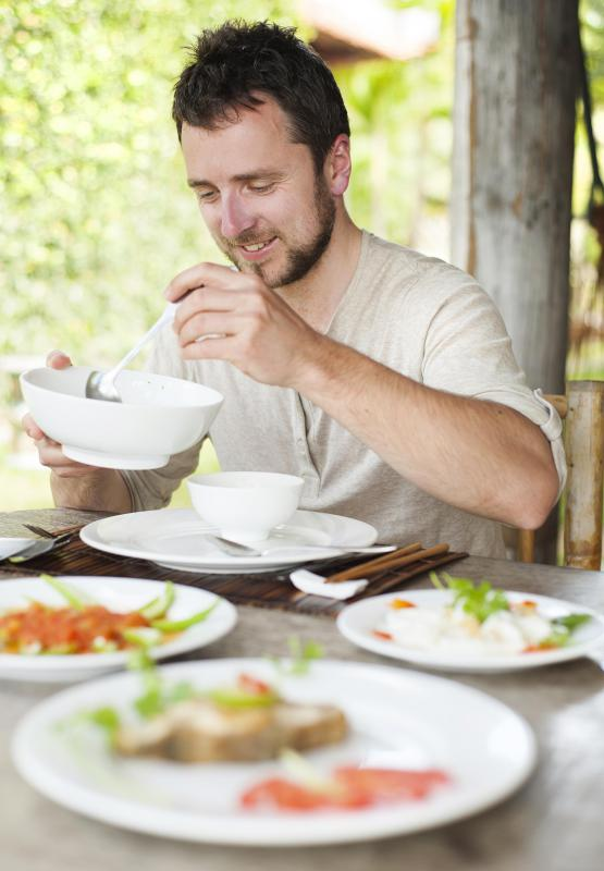 Some experts believe that the isoflavones in soy and certain other foods can affect a man's fertility.