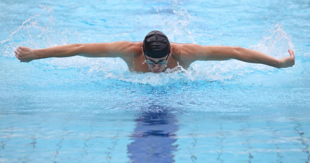 The butterfly is one of the most physically challenging swimming strokes.