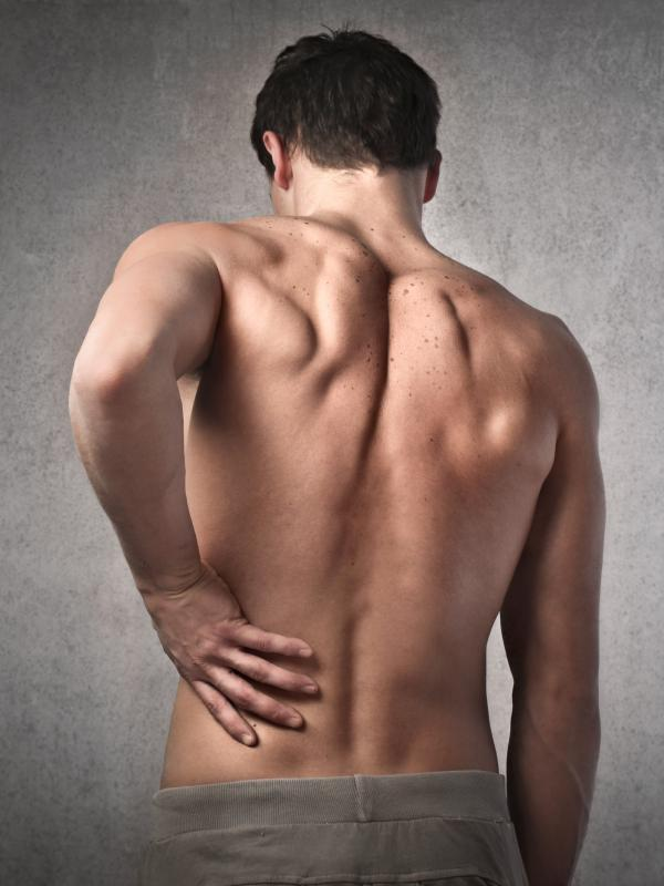Running often causes back pain.