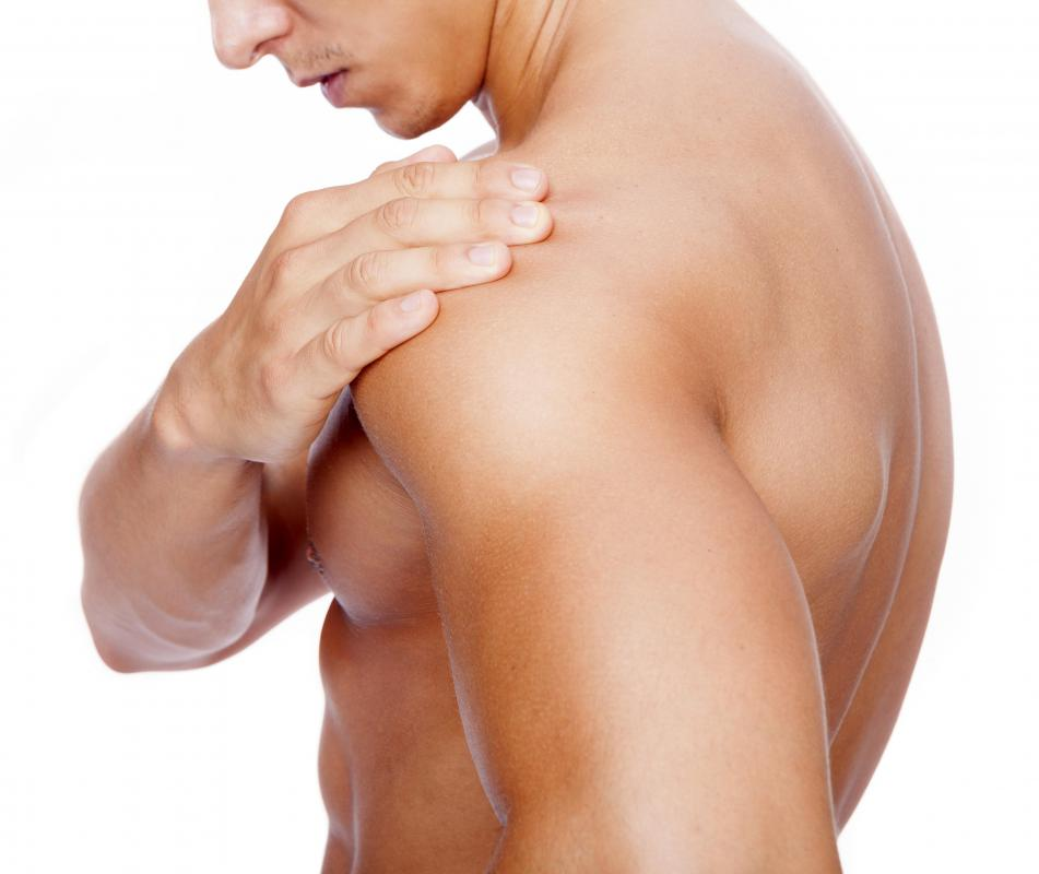 Shoulder dislocation may occur as a result of violent stress to the shoulder joint.