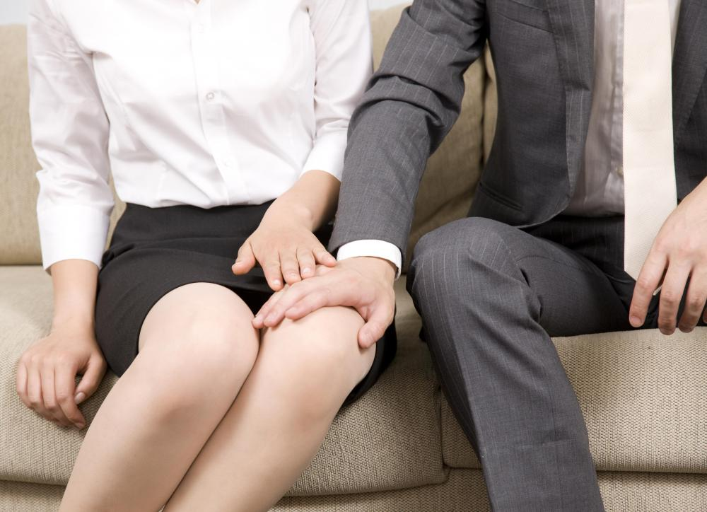 Quid pro quo sexual harassment involves offering workplace advancement in exchange for sexual favors.