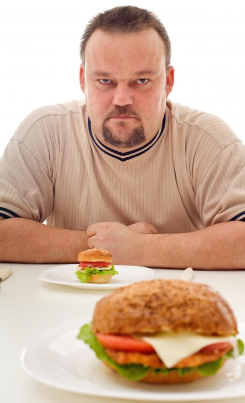 A dietary aide may reduce a person's food portion sizes.