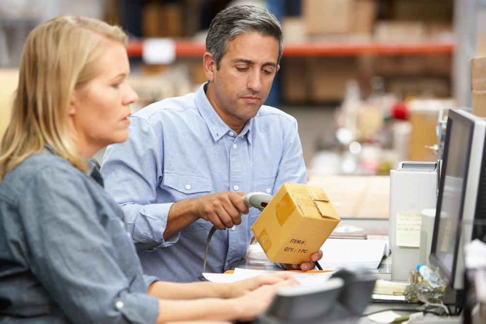 Automated systems with barcode scanners may allow managers to inventory materials and supplies quickly and accurately.