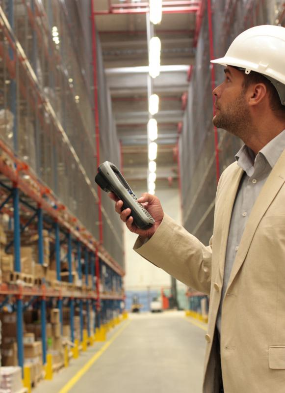 Portable electronic devices can be used to track inventory.