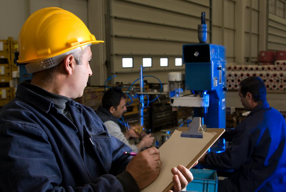 Efficient manufacturing requires planning of human and material resources.