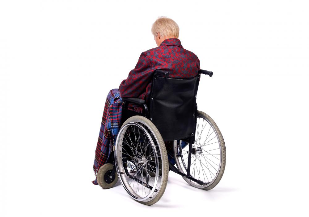 An insurance claims investigator may investigate claims of disability.