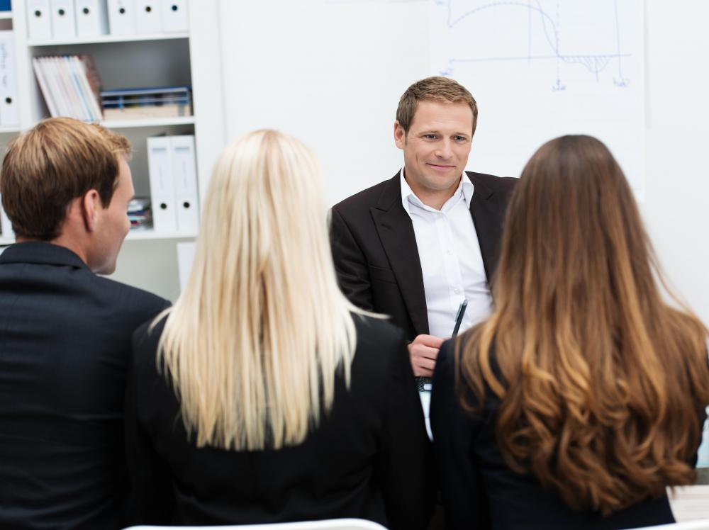 In group cas interviews, the interviewer usually takes a less active role.
