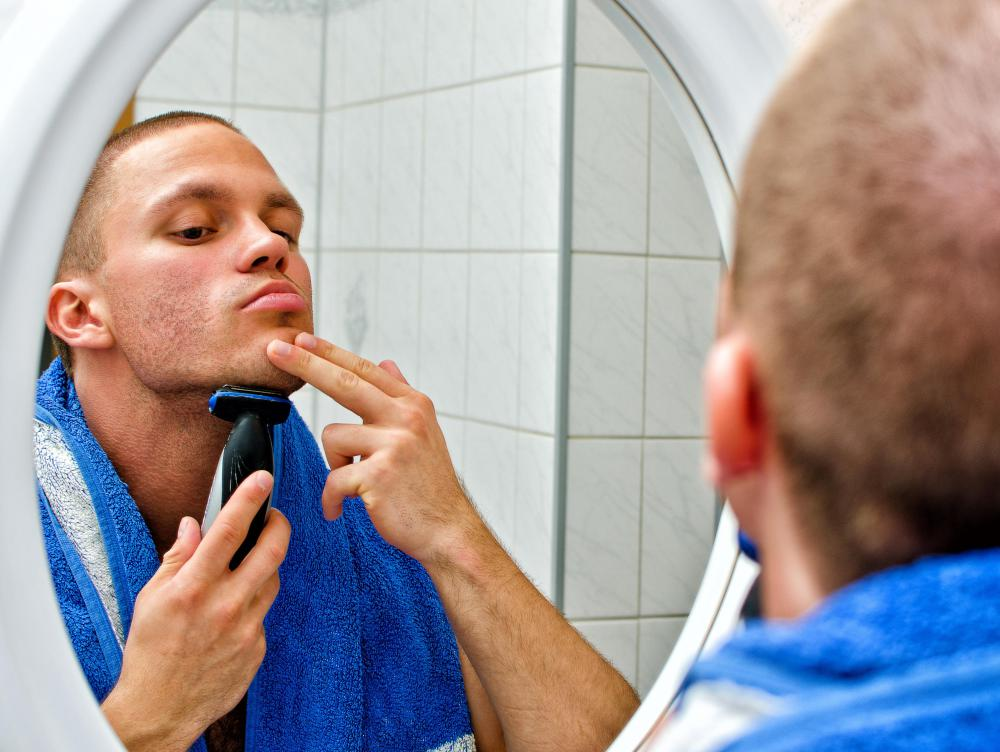 Regular shaving can help reduce face dandruff.