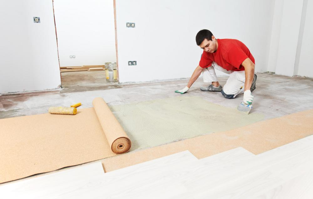 Padding Glue Is Used To Prevent Movement From Underneath Carpet Once It Has Been Installed