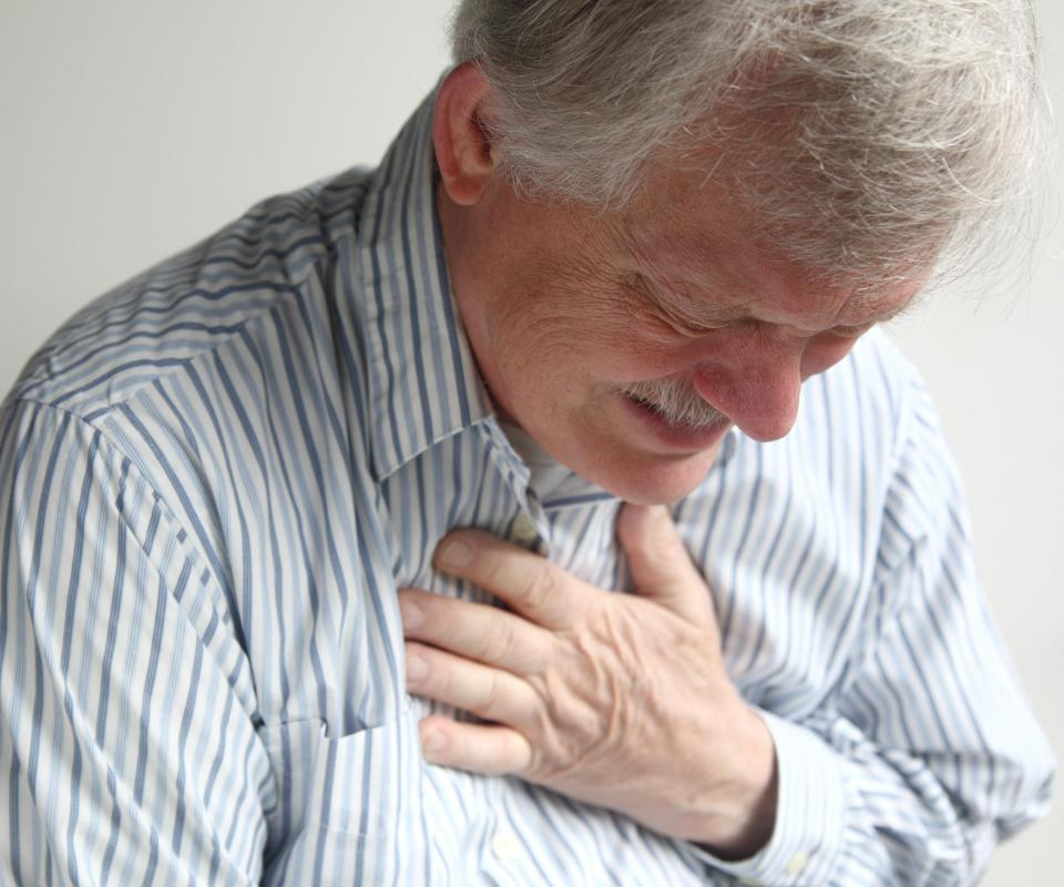 Severe chest pain can be a sign of a coronary disease.