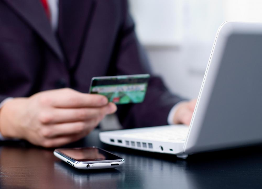 Many companies charge a fee for making an online credit card payment.