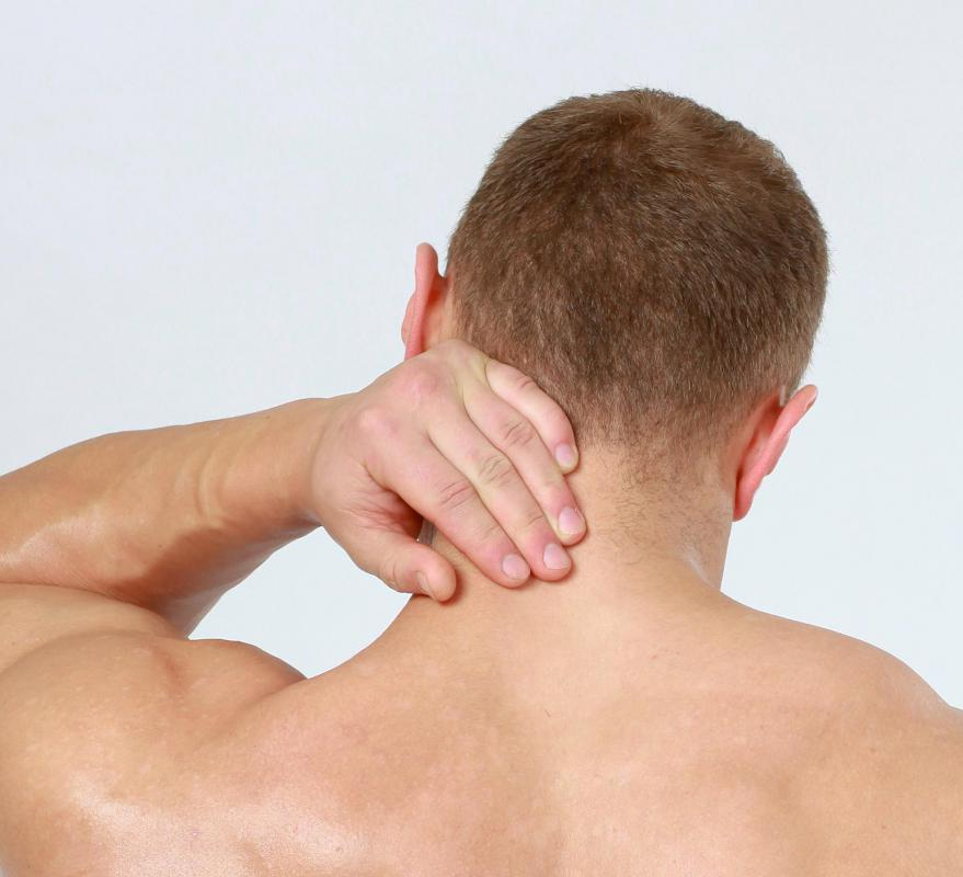Neck pain can sometimes be associated with cancer.