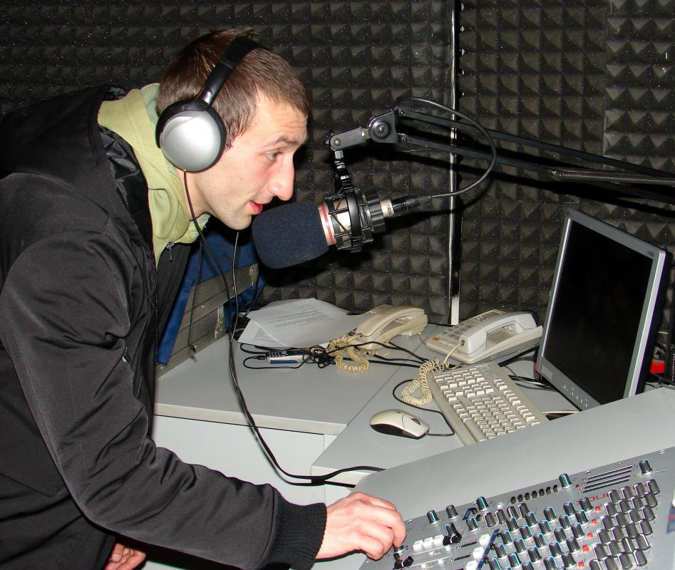 Some radio stations offer production services for advertising spots.