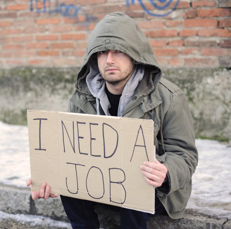People seeking a job should set aside time each day to search for employment.