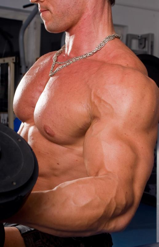 Human growth hormone is often used as a bodybuilding supplement.