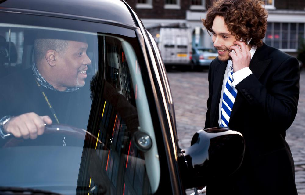Access to a car service might be a part of an executive's remuneration.