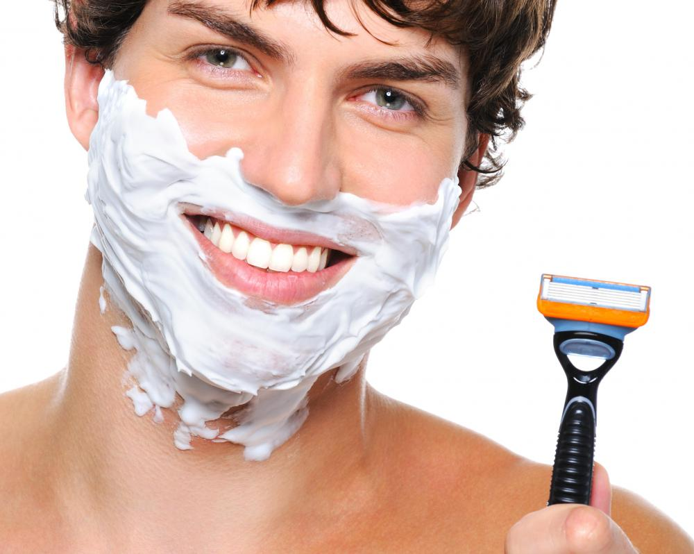 shaving cream Have you ever thought about the invention of shaving cream shaving cream is a foamy mixture placed on the body, typically the face, during the process of removing, or shaving.