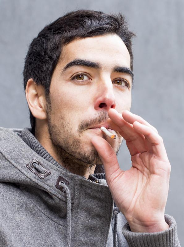 Some smokers use self-hypnosis to address their nicotine addiction through visualization and other techniques.