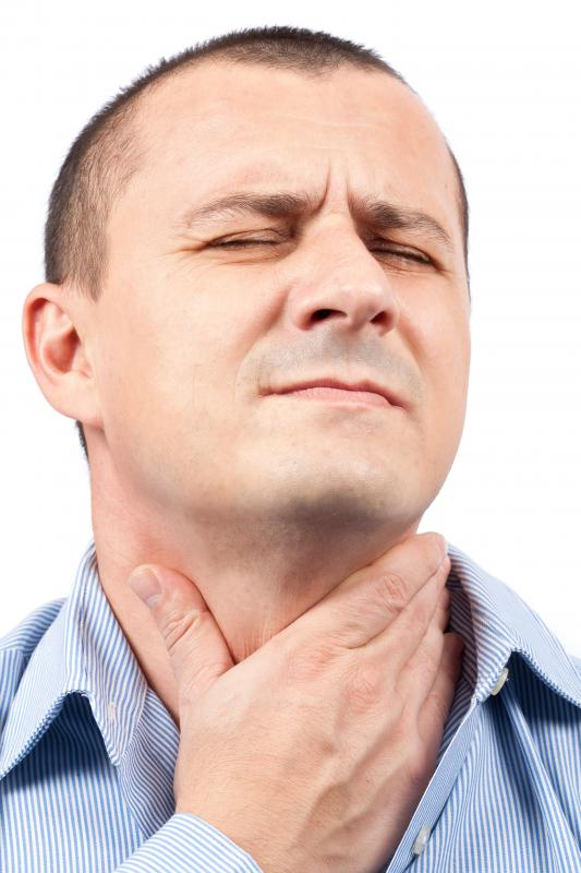 A homeopathic remedy should not be the only source of medical treatment for someone with a sore throat.