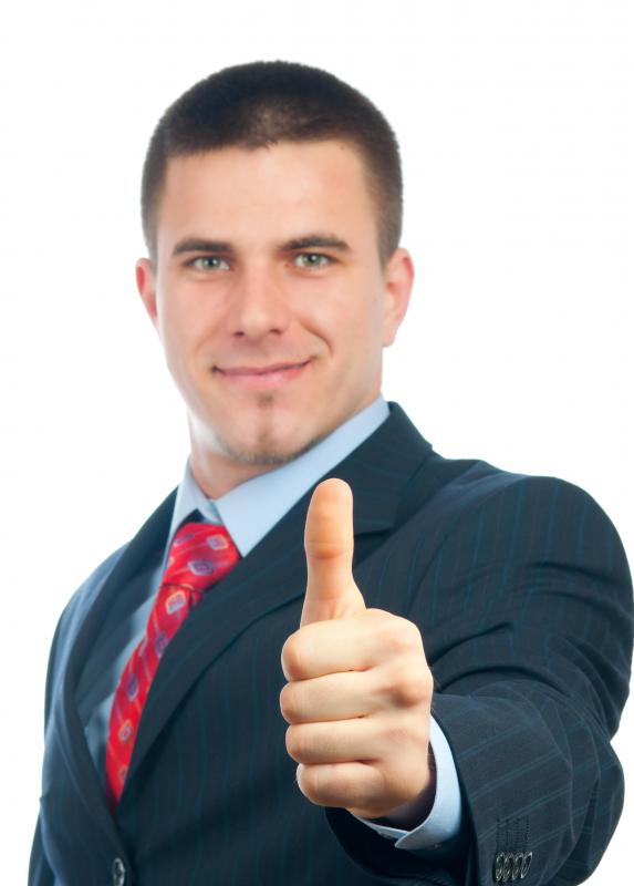 Giving the thumb up sign is a way to demonstrate something positive without saying a word.