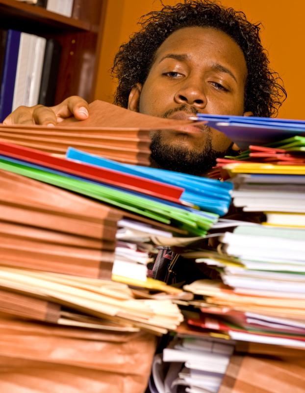 Most businesses have some kind of routine paperwork for employees to fill out.