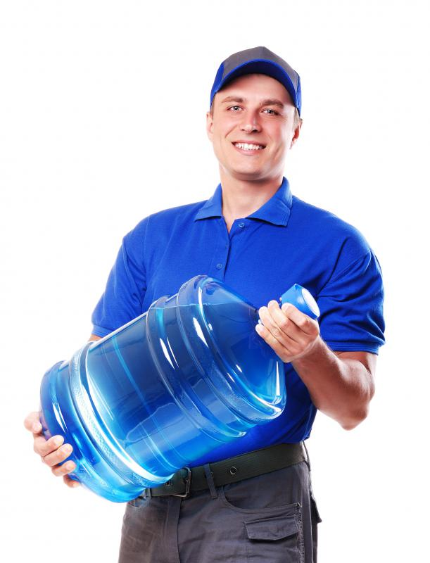 Some water operators are responsible for delivering water to consumers.