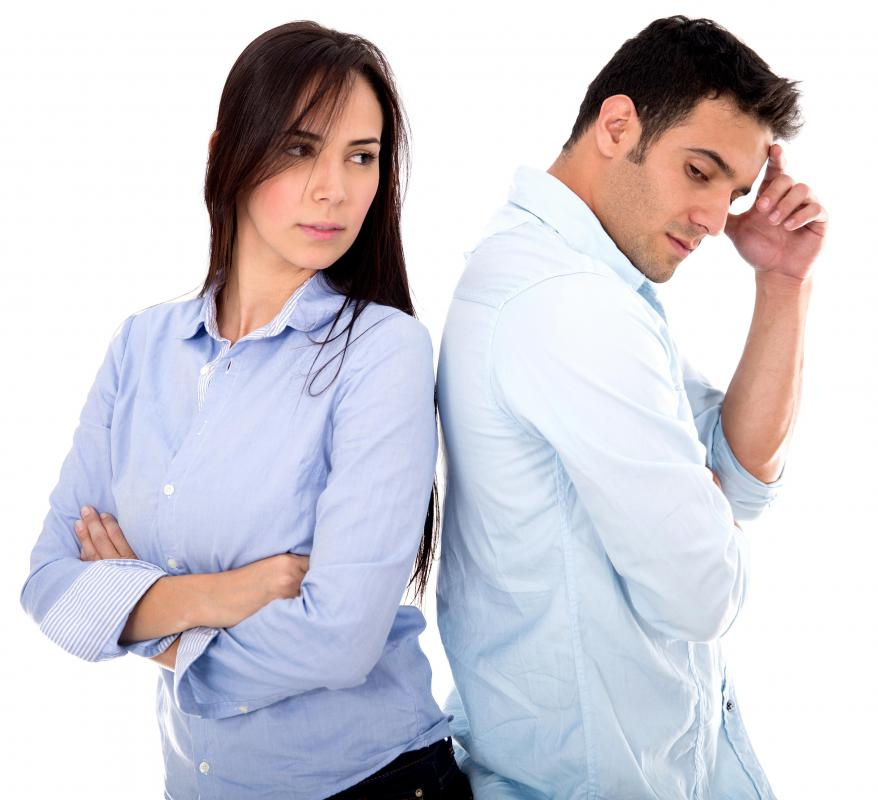 Many couples have trouble establishing trust in their relationships.