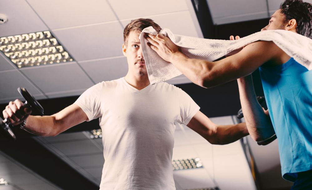 Personal trainers have their clients sign waivers to provide protection against liabilities from training.