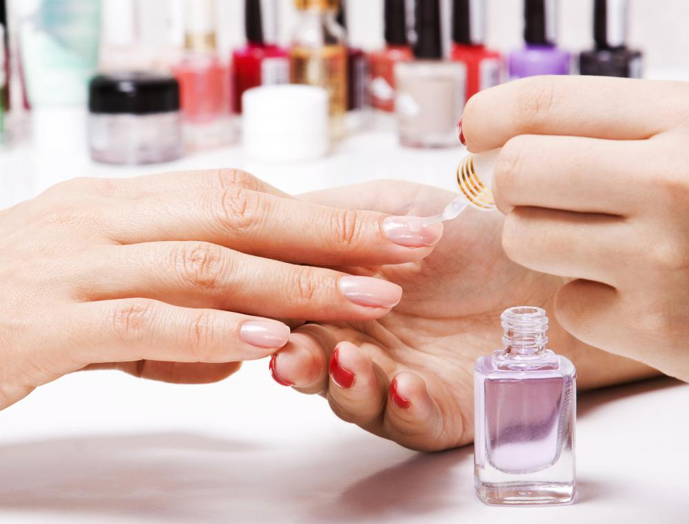 Salons and spas both offer manicure services.