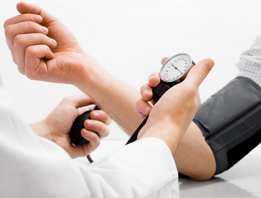 High blood pressure can increase the likelihood of blood clot formation.