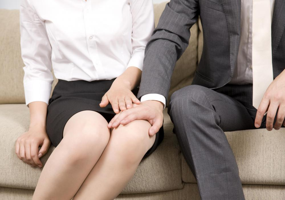 Inappropriate touching is considered a form of workplace intimidation.