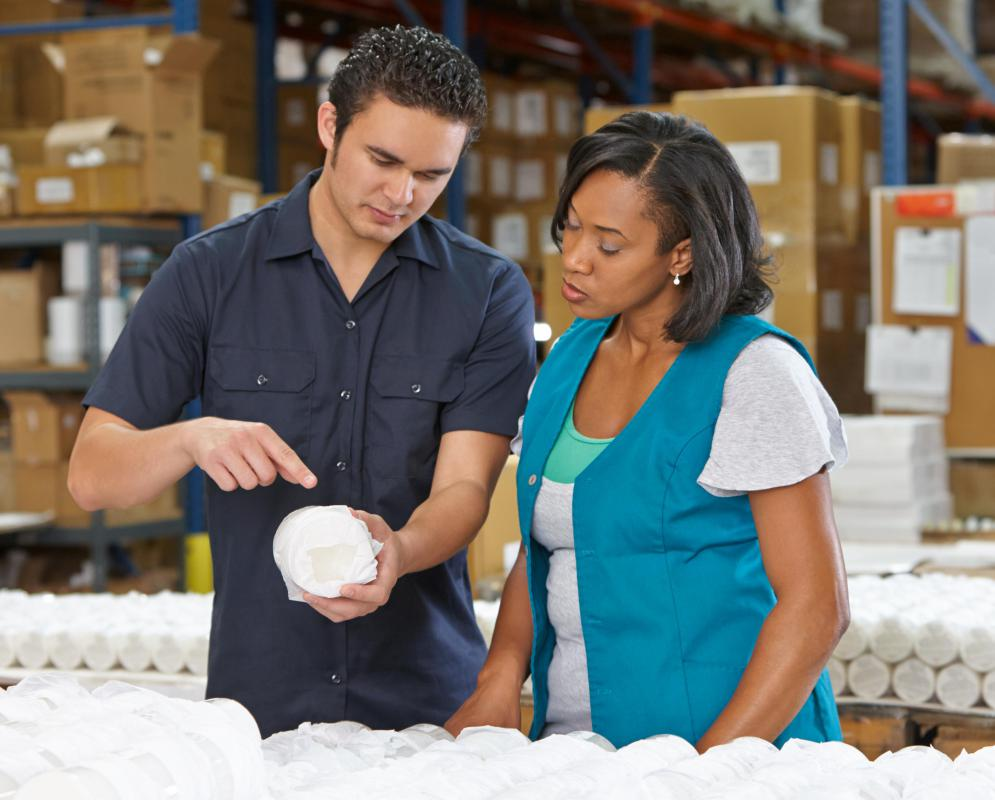 Quality control (QC) ensures that employees, workplaces, and products are kept safe and up to a reasonable standard.