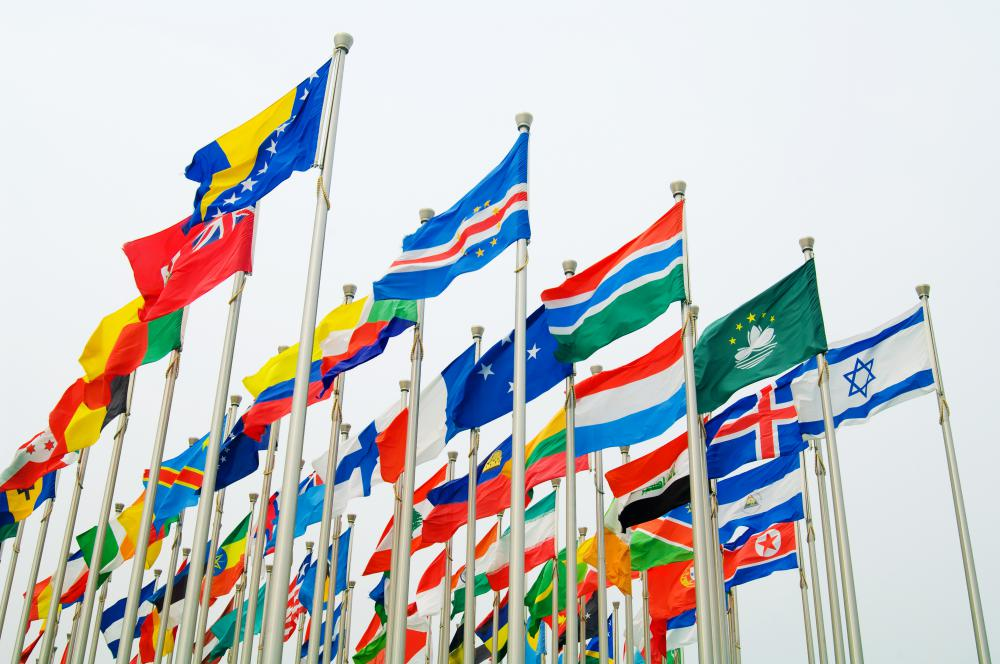 The United Nations has 191 member countries from around the globe.