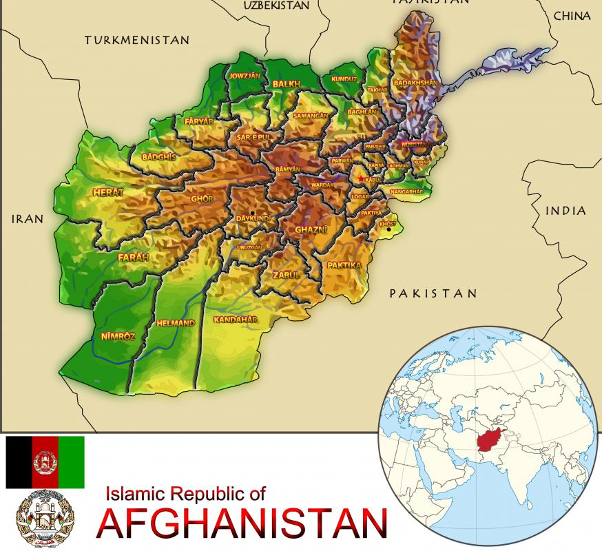 What Is An Afghan Rug With Pictures - Us invasion of afghanistan everyday map