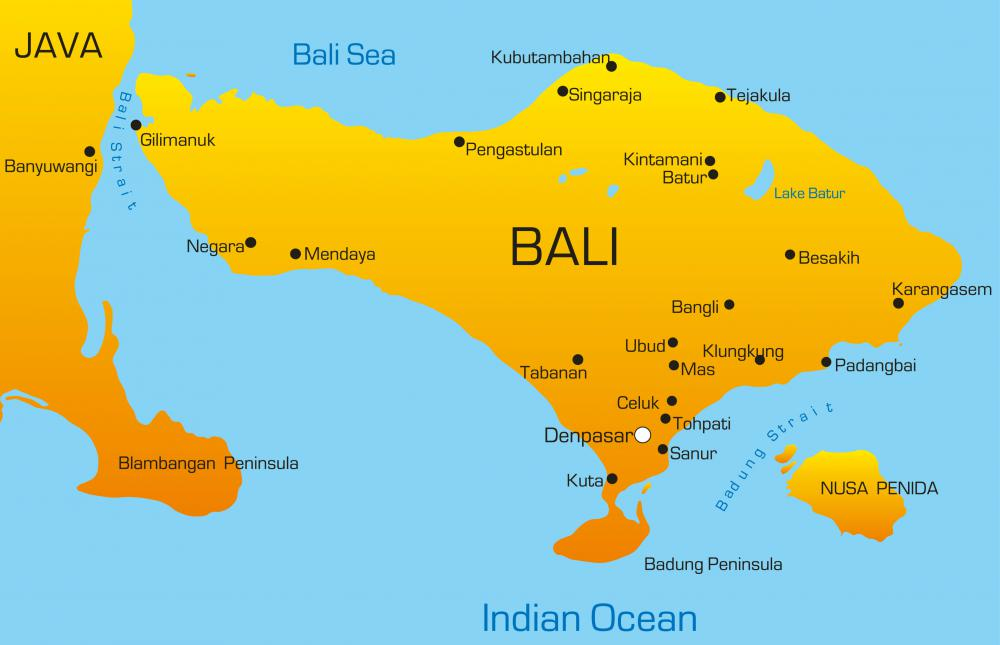 Bali where balinese tigers lived