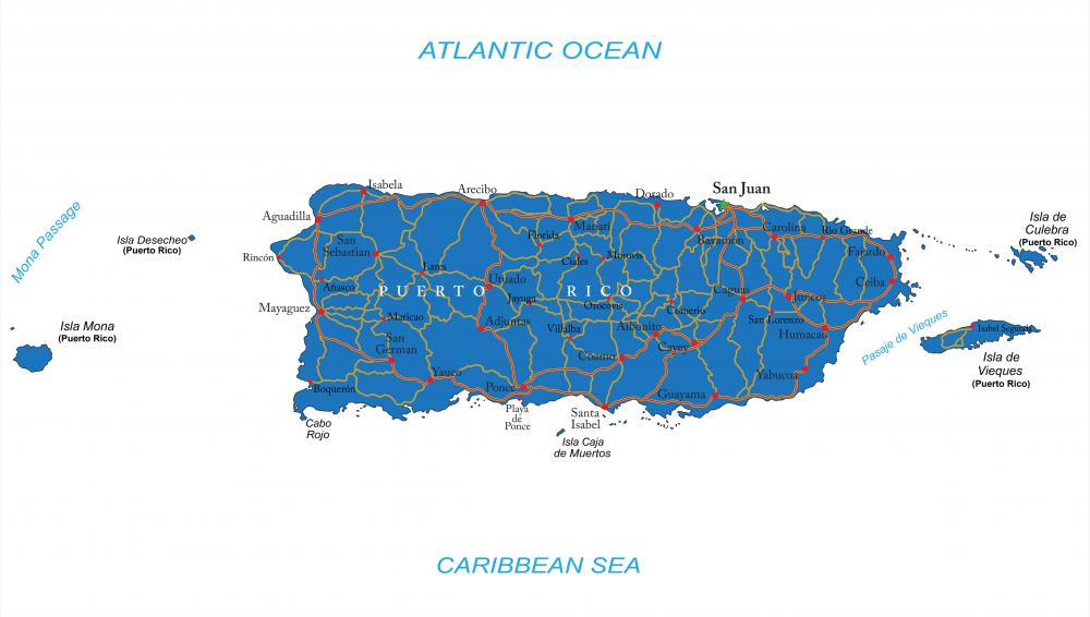 San Juan, Puerto Rico, is one of the vertices of the Bermuda Triangle.