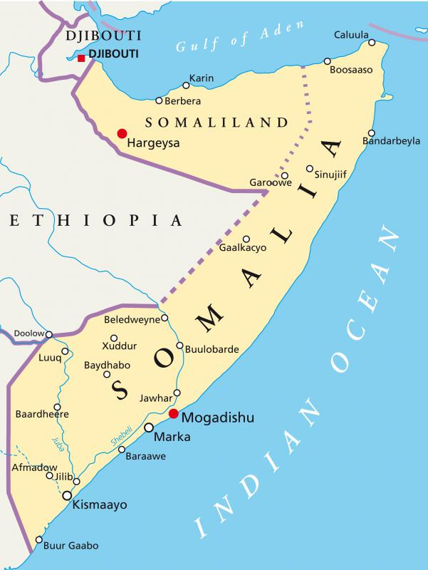 Swahili is spoken in Somalia.