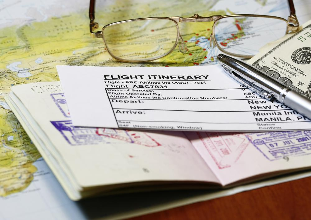 Make sure both you and a friend have copies of your travel itinerary.